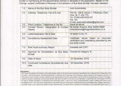 CIRT Certificate